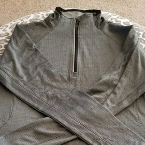Gray Avia jogging shirt